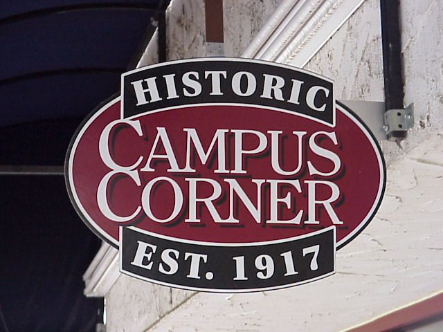 Holmberg House is just walking distance from the classic Campus Corner