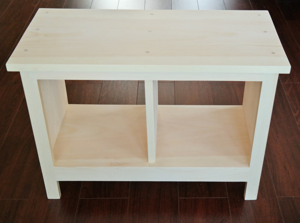 24 Inch Unfinished Entryway Bench Custom Furniture Shoe Cubby Cubby Storage  Bench Bench Seat Entertainment Center