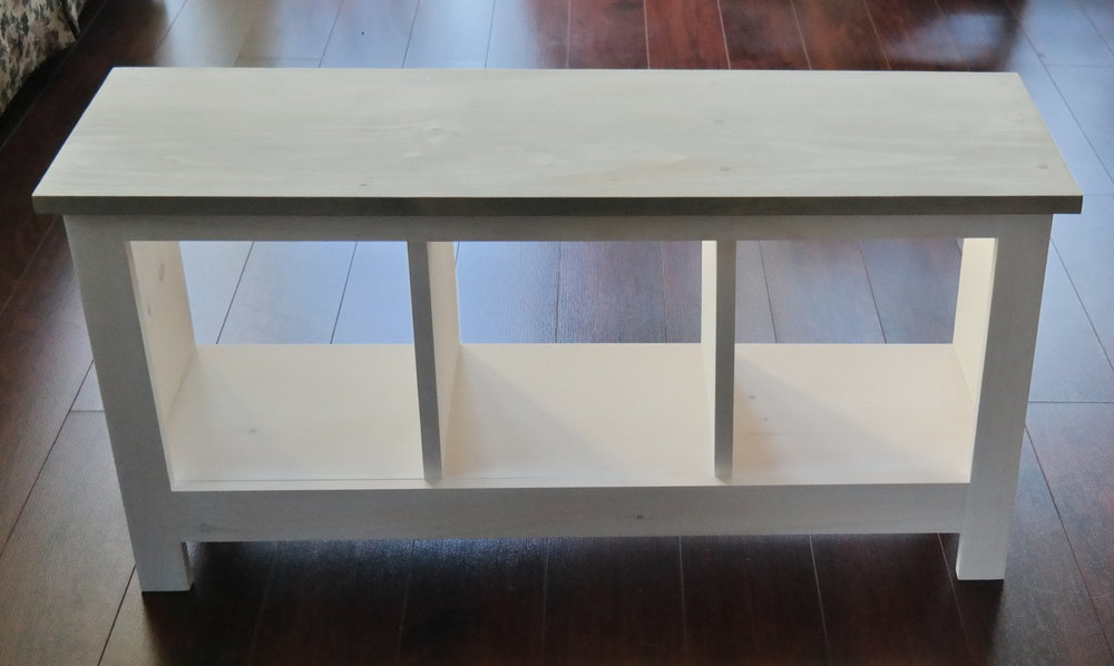 Two Tone Entryway Bench Custom Furniture Shoe Cubby Cubby Storage Bench  Bench Seat Entertainment Center