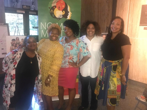 No More Martyrs would not be the same without these phenomenal and passionate advocates that lead our  Sister Support Meetups  in various cities. From left to right, Tiffany Elliott, MFT (Birmingham, Alabama), Sherron Wilkes, MSW (Birmingham, Alabama), Lanada Williams, MA, NCC, LPC (Washington, DC), Lauren Carson (Atlanta, Georgia) and Angela Clack, PhD (Philadelphia, Pennsylvania).