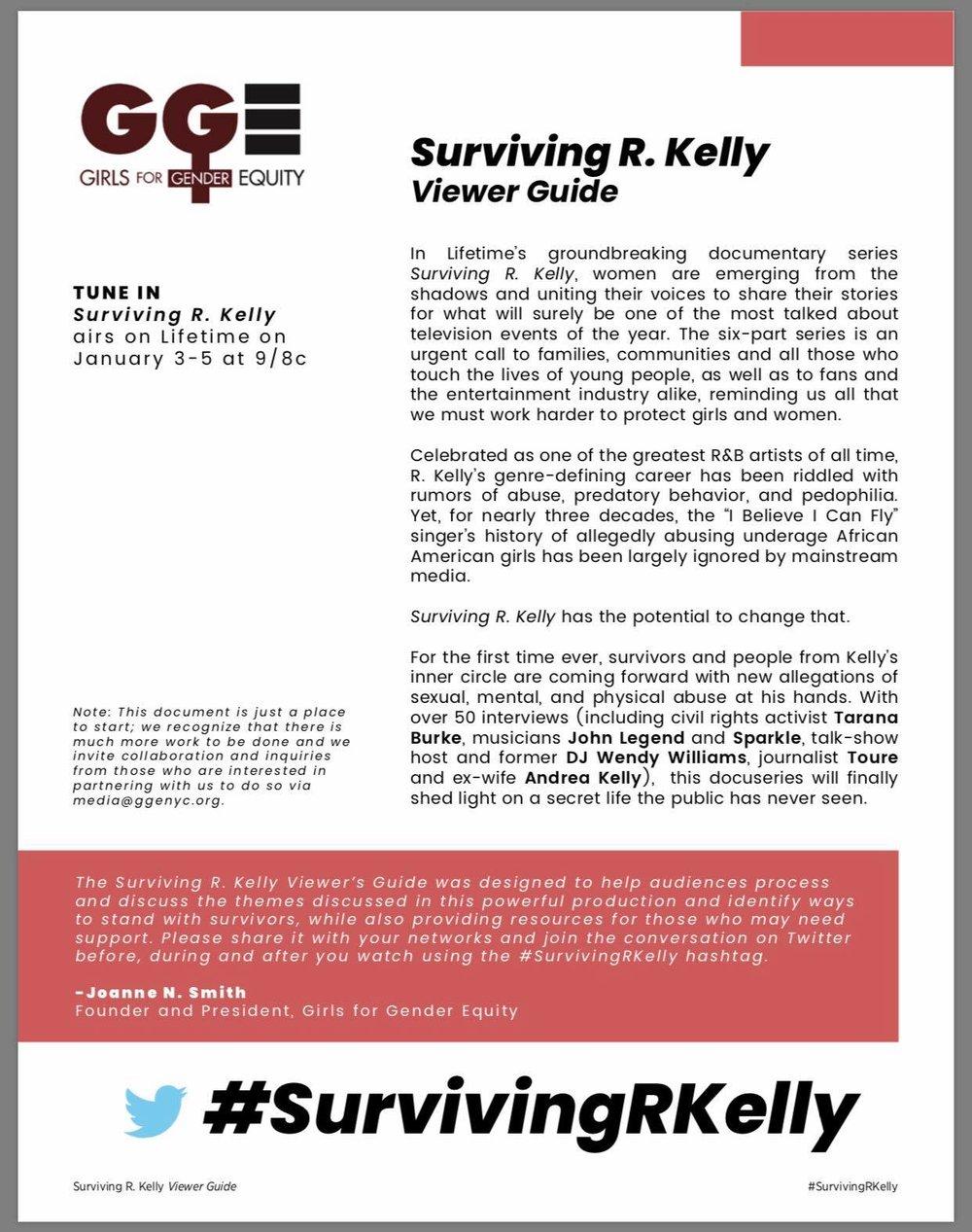 - Surviving R. Kelly - Viewer Guidewww.ggenyc.org/survivingrkelly
