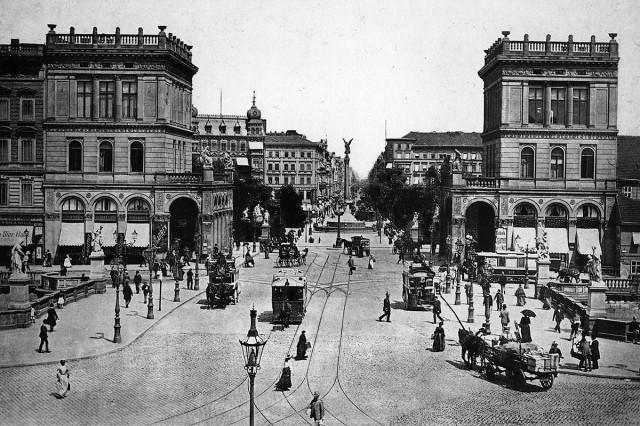 Hallesches Tor, 1894, photo: Robert Prager