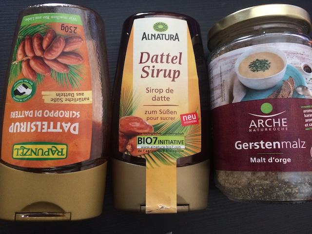 MOMONO  デイトシロップとアーチの大麦麦芽