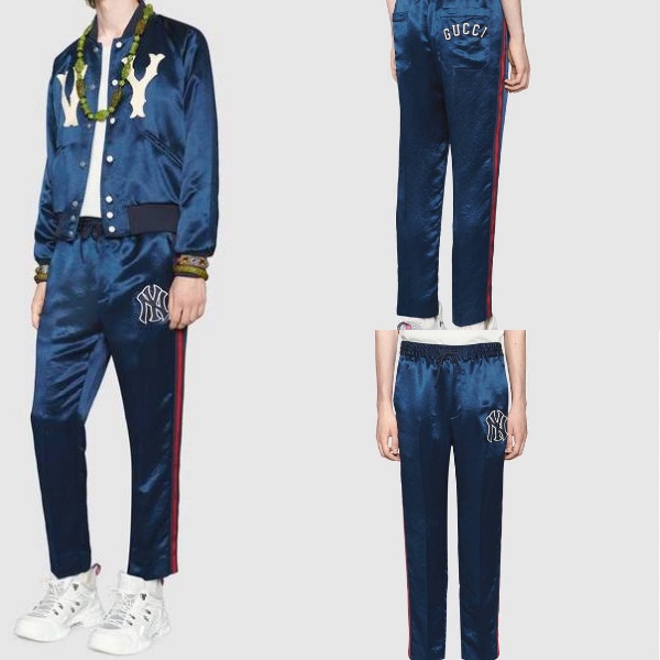 Gucci.com  グッチ・ NY ヤンキーズ・ロゴ・ジャガーパンツ