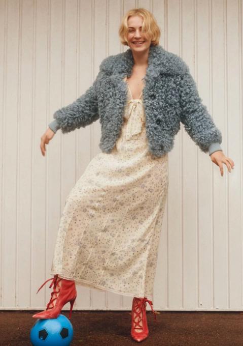 Photographs by Ronan Gallagher   Fashion by Charlotte Blazeby