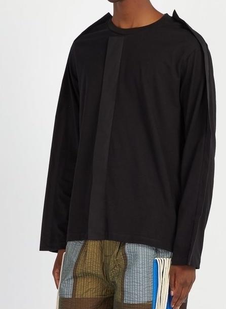 クレイググリーン パネル クルーネックコットンTシャツ    Photo: matchesfashion