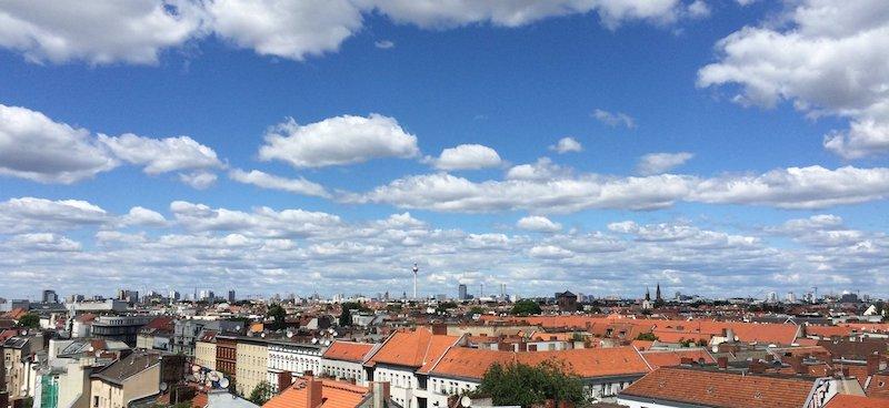 MOMONO Berlin klunkerkranichからの眺め