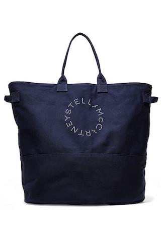 Photo:net-a-porter   ステラマッカートニー Stella Logoロゴキャンバストートバッグ