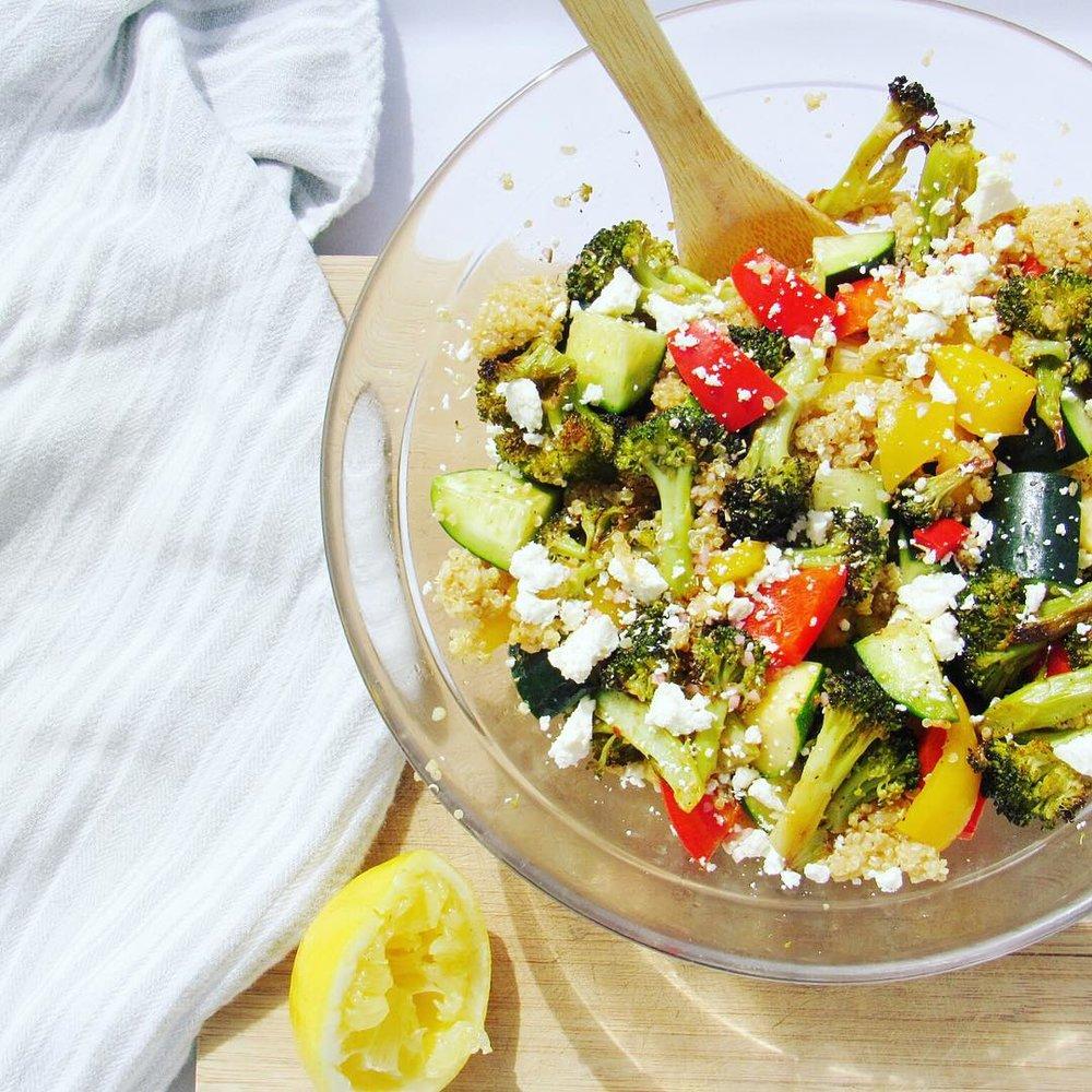 Local Food Summer Salad