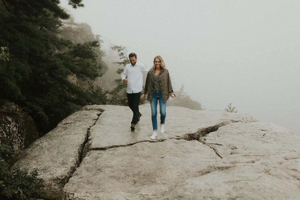 Catskill Mountains Engagement Photo
