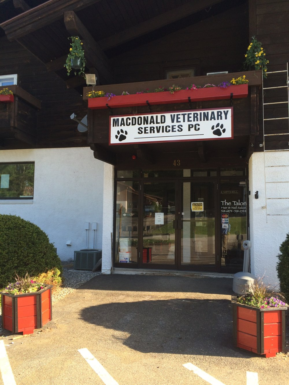 MacDonald Veterinary Services in Gilford, NH