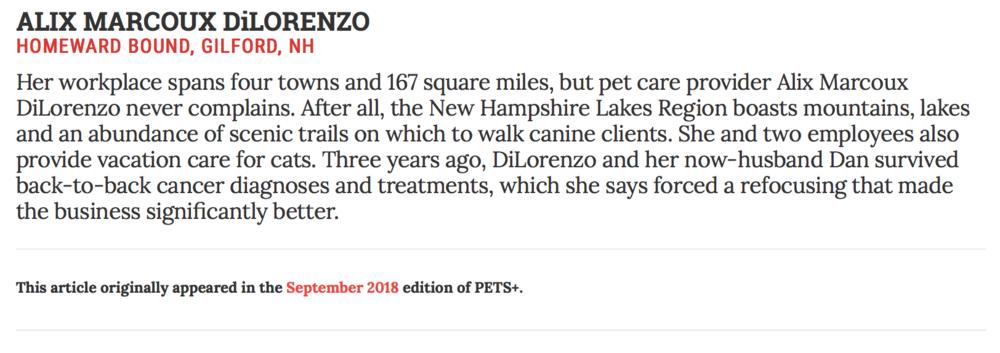Pets+ Magazine Homeward Bound Sanity Files