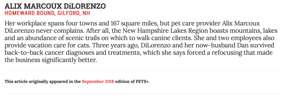Article as appeared in Pets+ Magazine Sanity Files page in the September 2018 issue.