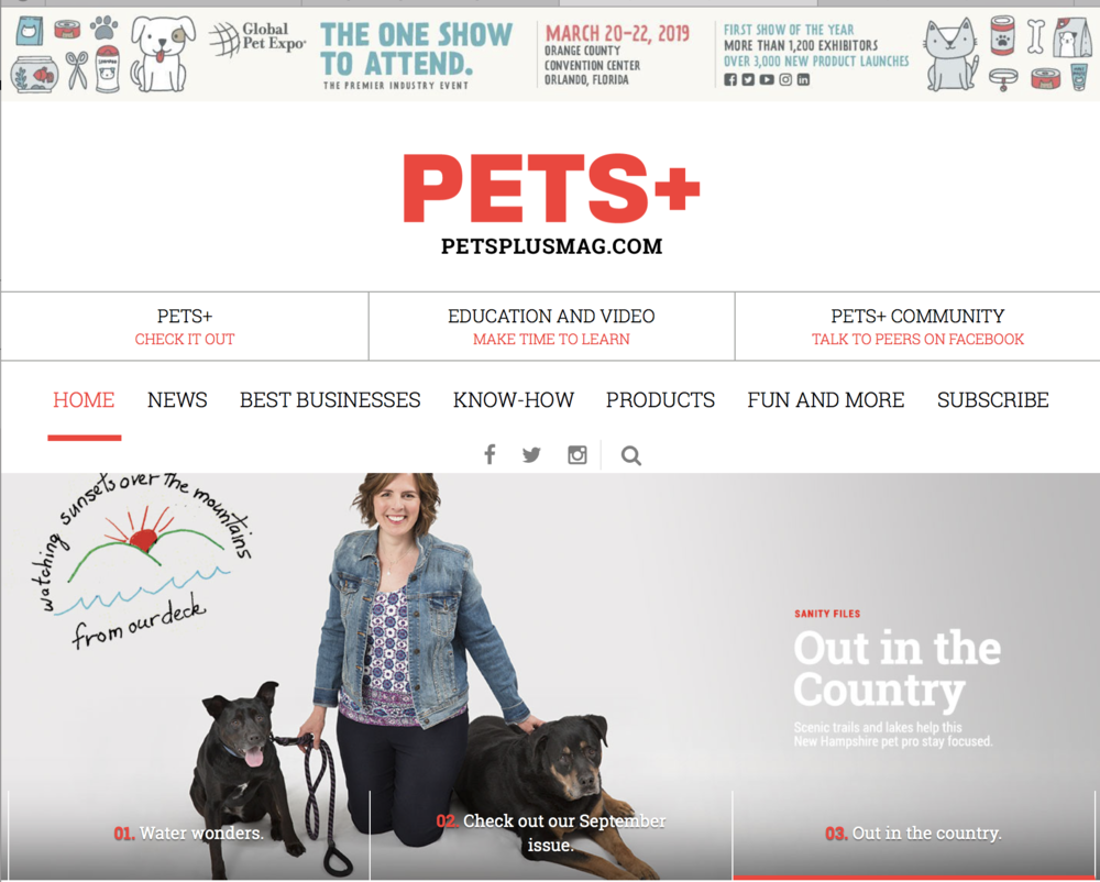 Pets+ Website
