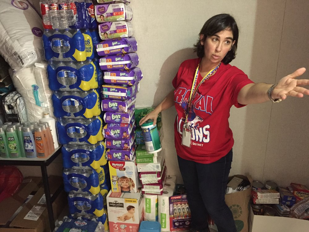 Houston Strong - In the wake of Hurricane Harvey, we teamed up with Covencargo and Literal Magazine to seek out donations for affected Houstonians. We managed to collect supplies that we sent to the families of Royal STEM Academy in Fulshear. Last year, they donated food and medicine to Saludos, so we took the opportunity to give back this time!