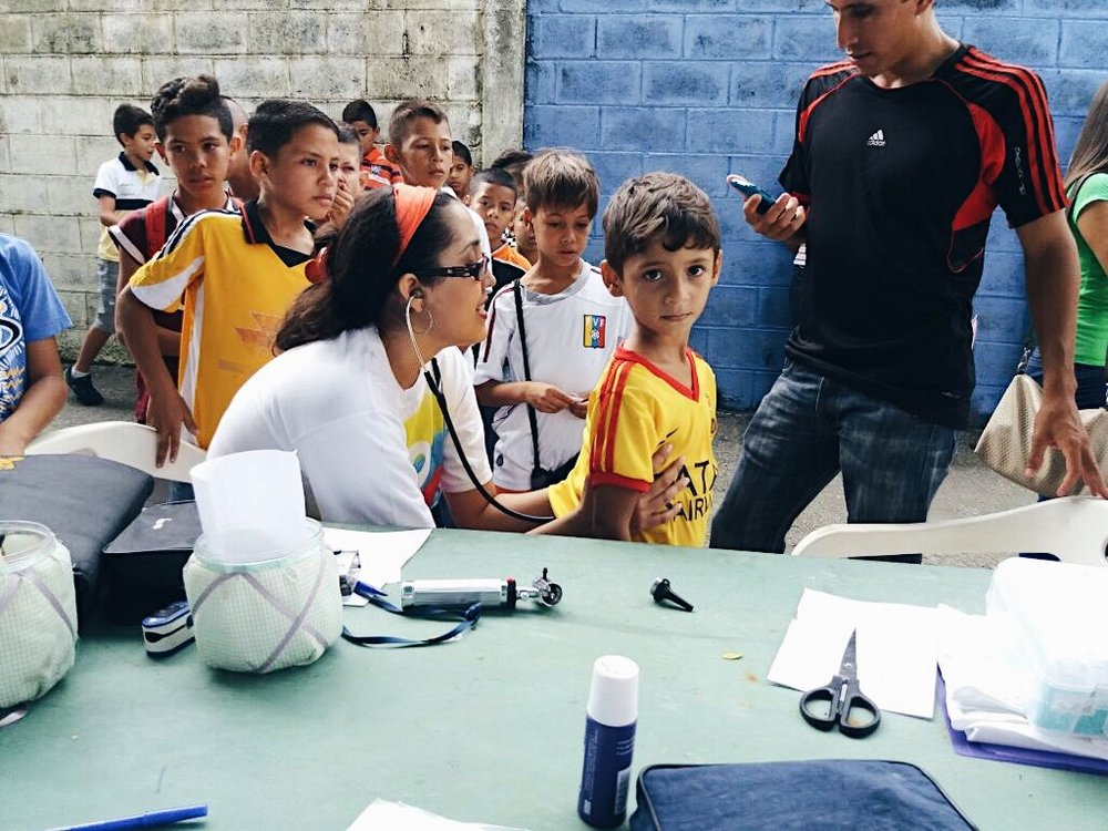 SOS Somos Portuguesa - A grassroots nonprofit organization started in response to the Venezuelan crisis. Based in the rural state of Portuguesa, they take care of children in the many poor rural villages. On weekends, they carry out medical missions in these villages that would otherwise not have access to any medical treatment. We send them gloves, syringes, and medicine for kids. We also purchased a car suited for the roads to reach the hundreds of villages they serve.