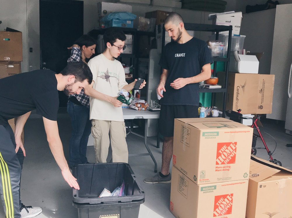 Human Rights Club(Bellaire High School)  - Students from the Bellaire High School Human Rights Club not only helped us sort and pack supply boxes, but also started a fundraiser selling study books to donate to us.