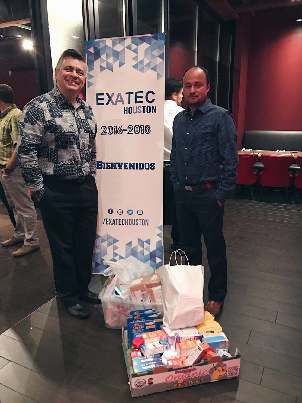 Exatec Houston - The Exatec Houston community generously held a donation drive to collect needed medicine for children in Venezuela. Gracias!