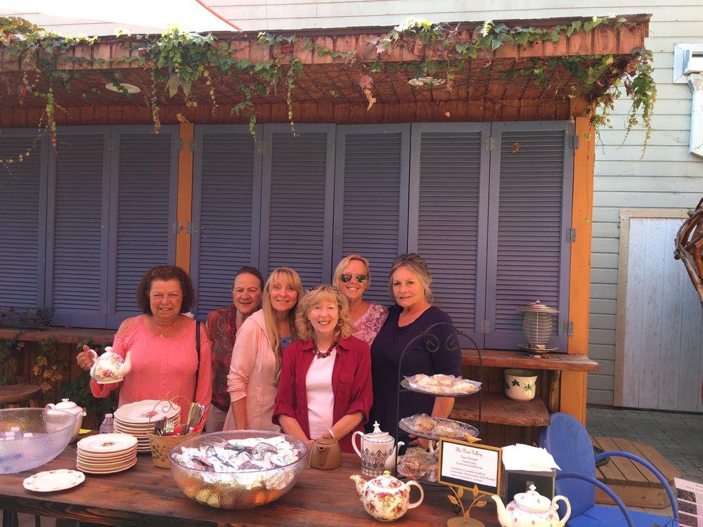 The Chamber of Commerce Volunteer Tea