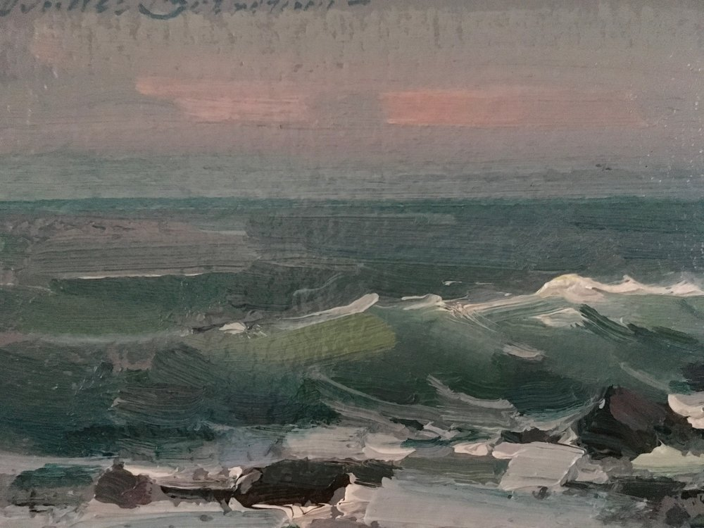 incoming Tide. 6x8. $2,400.00