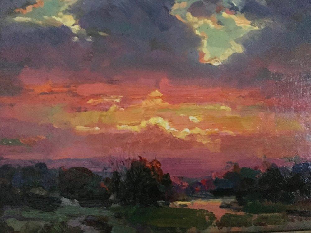 Sunset 6x8. $2,400.00