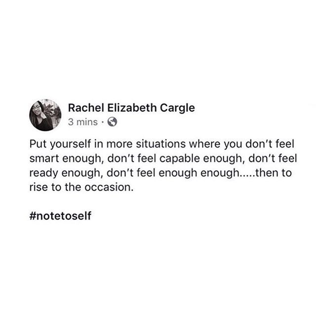 Confidence is a muscle that gets stronger when you work it. Own who you are and go for it. Thanks @rachel.cargle . . . . . . #publicspeaking #confidence #entrepreneur #creative #authenticity #brooklyn #nyc #ownit #womenempowerment #presentation  #motivation #motivationmonday