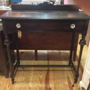 This was a pretty little buffet that was only in need of a facelift.
