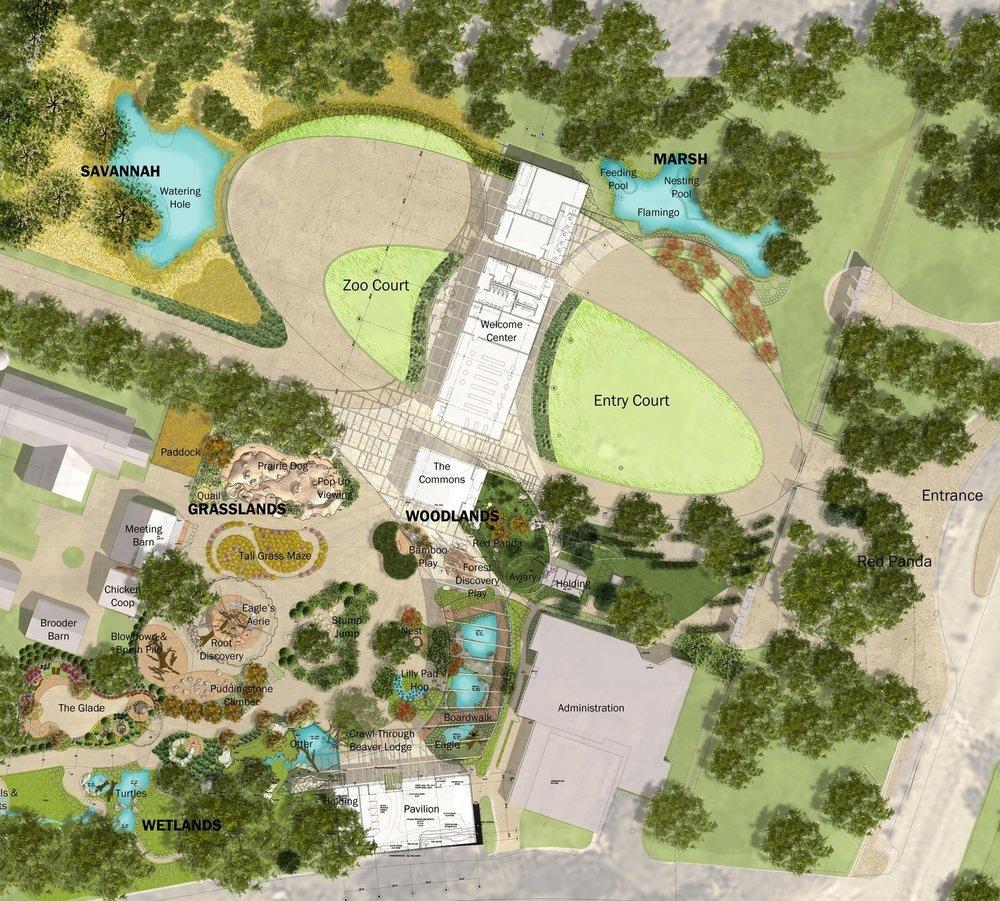 Franklin Park Zoo Gateway Coyle Caron Landscape Architects
