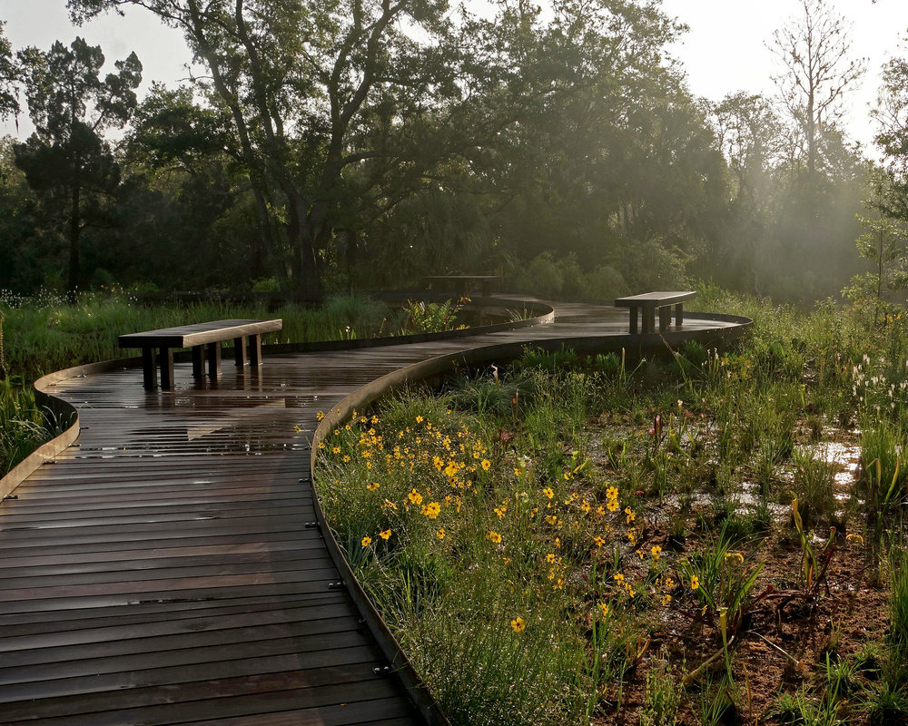 Expansion included the Florida Garden, Pollinator Garden, wetlands and wildlife pond reconstruction