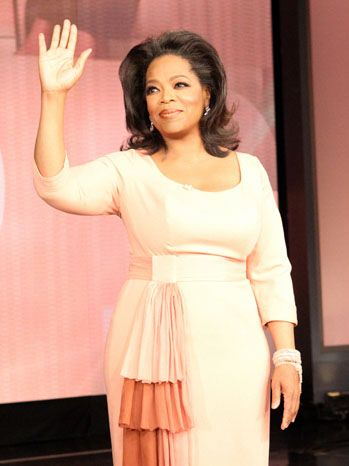 """High five, Jess!"" - Oprah, May 2007"