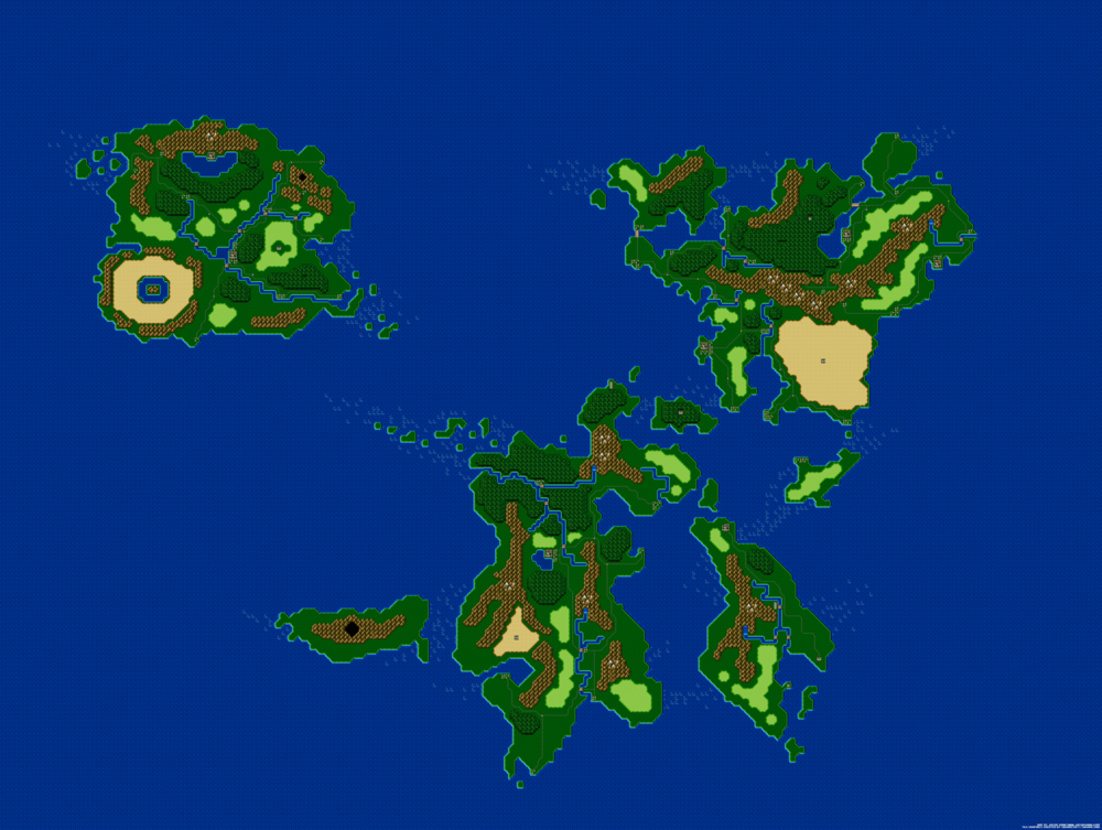 16 bit world map dungeons data click here to view the full map in all its pixel glory gumiabroncs Images
