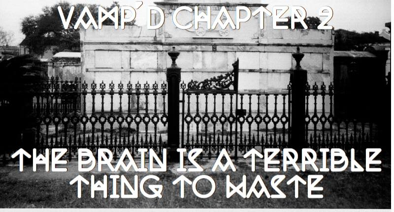 Chapter Two - The Brain Is A Terrible Thing To Waste