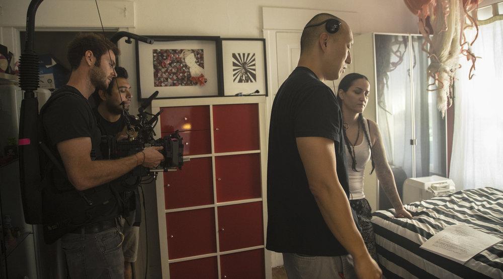 Adriaan Kirchner (DP), Fidencio Casas (B-Cam op), Dinh Thai, Diamonique Noriega (Nina)
