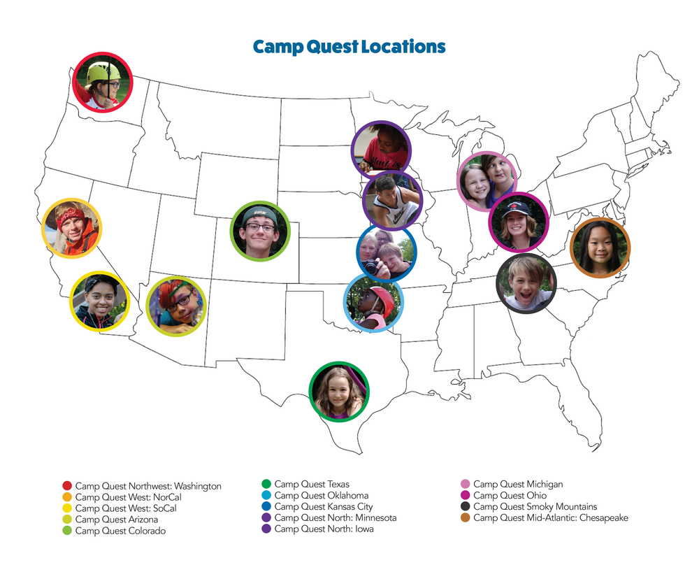 Camp Quest Map