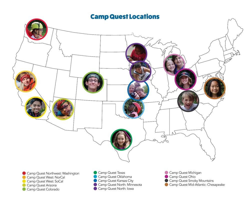 Camp Quest Map