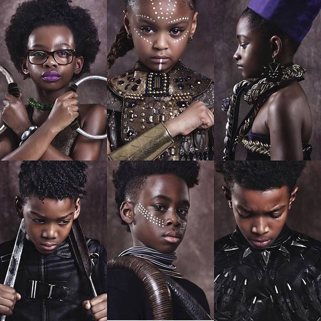 Halloween 🎃 2018 is set to be #FIRE🔥 ✨ ✨ #dressforsuccess #blackexcellence #WelcometoWakanda #heroinusall #blackpanthermagic #blackkidsinspire #nextgeneration #inspiration #historyisNOW #futureiswakanda #marvel #artphotography #portraiture #Iamtheauthorofmysuccess