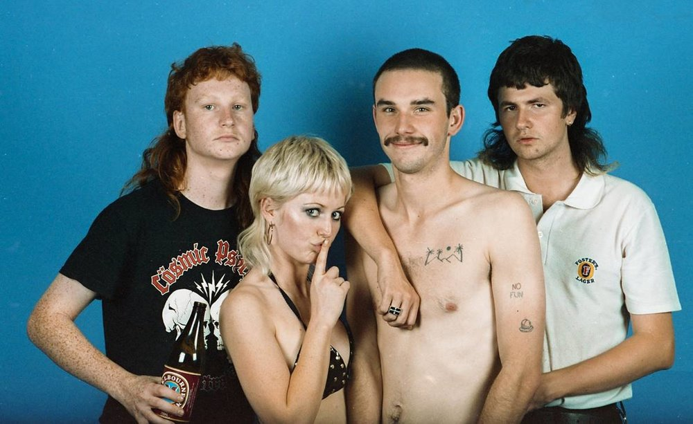 Amyl and the Sniffers band Andyland Radio with Andrew Willis.jpg