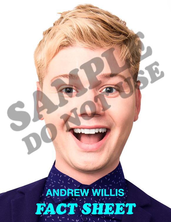 Download the 2018/2019 electronic press kit for Andrew Willis, host of Andyland Radio - Download PDF