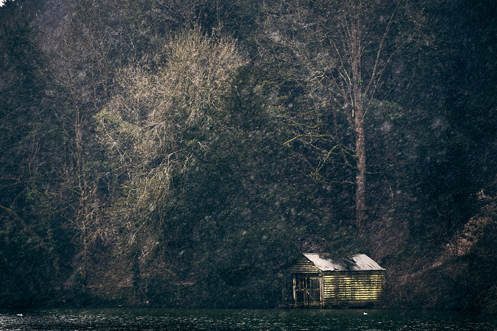 Boathouse, Swanbourne Lake