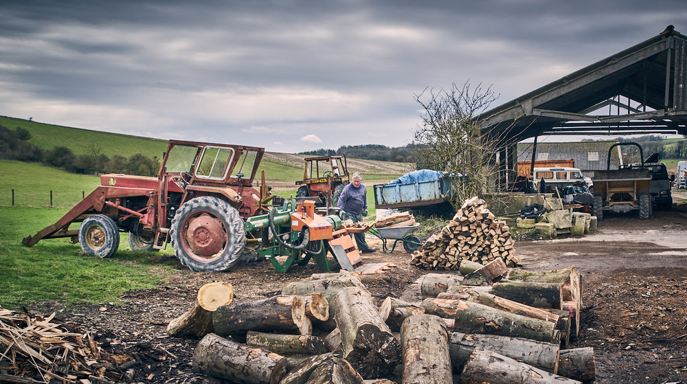 Firewood producer, Frieslands
