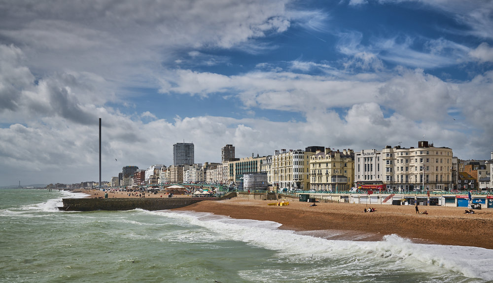 Brighton from the Palace Pier