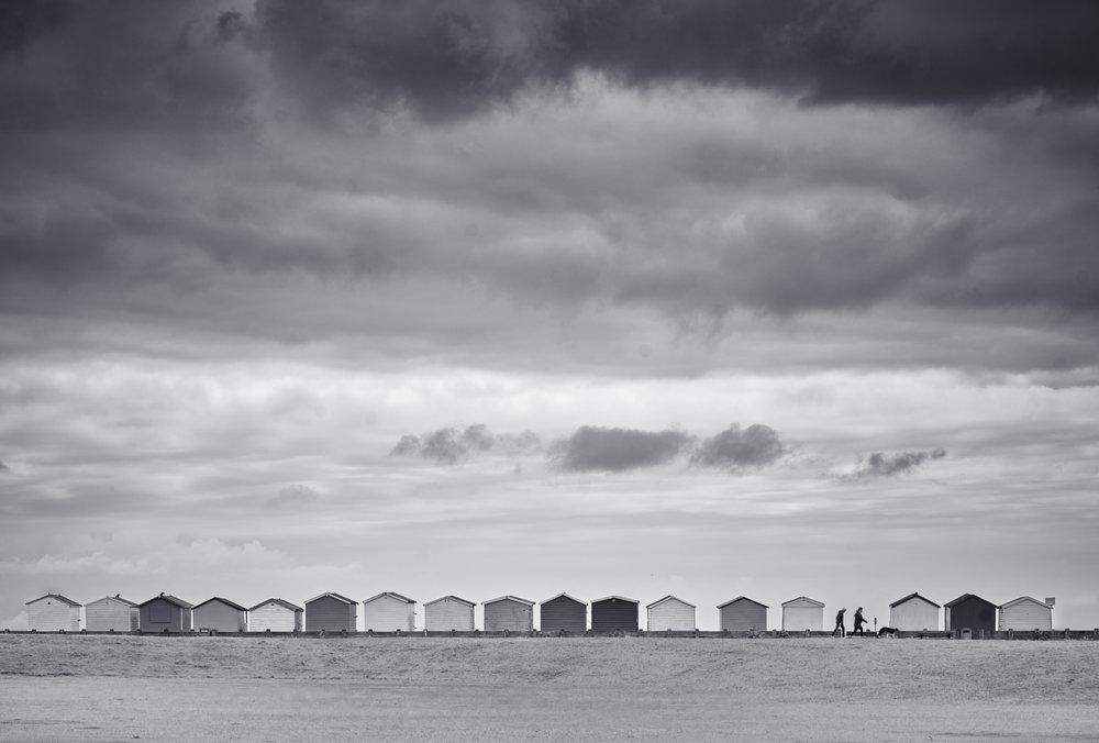 Beach Huts, Lancing