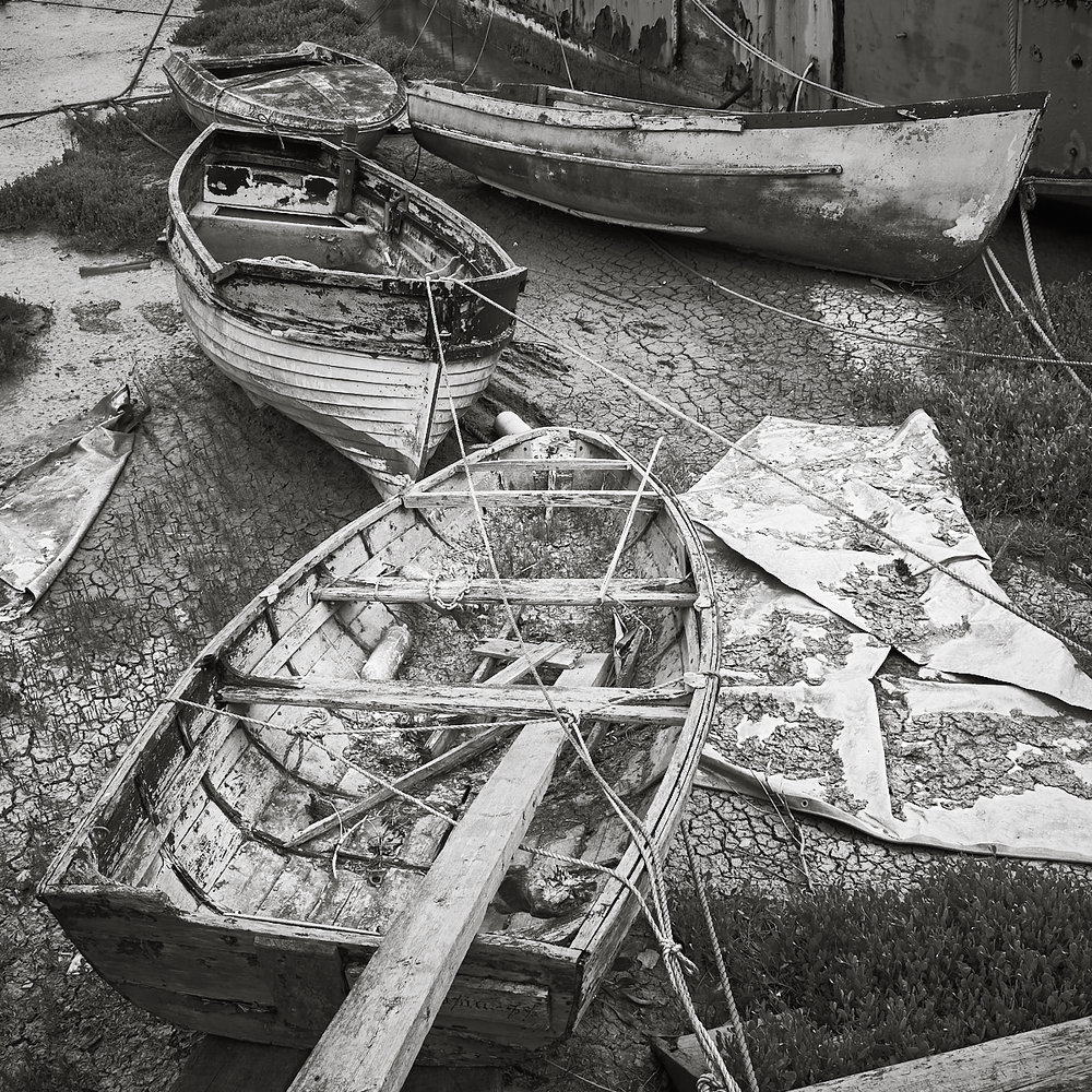Old boats, Adur estuary