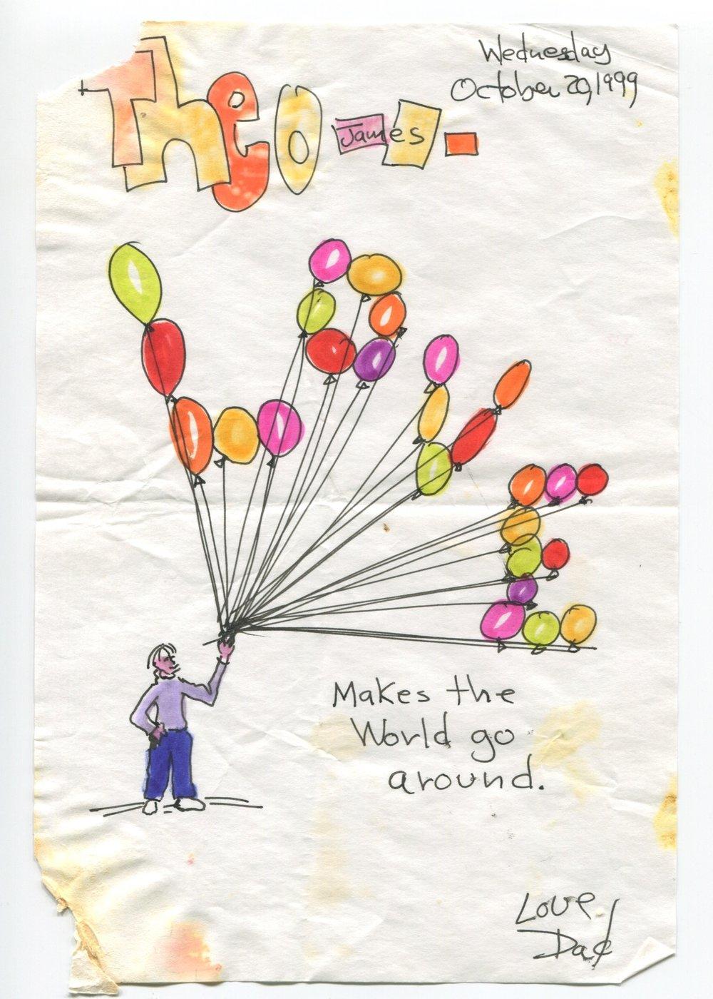 LOVE makes the world go around.