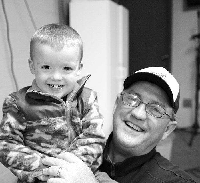 Dave and grandson, Jack.
