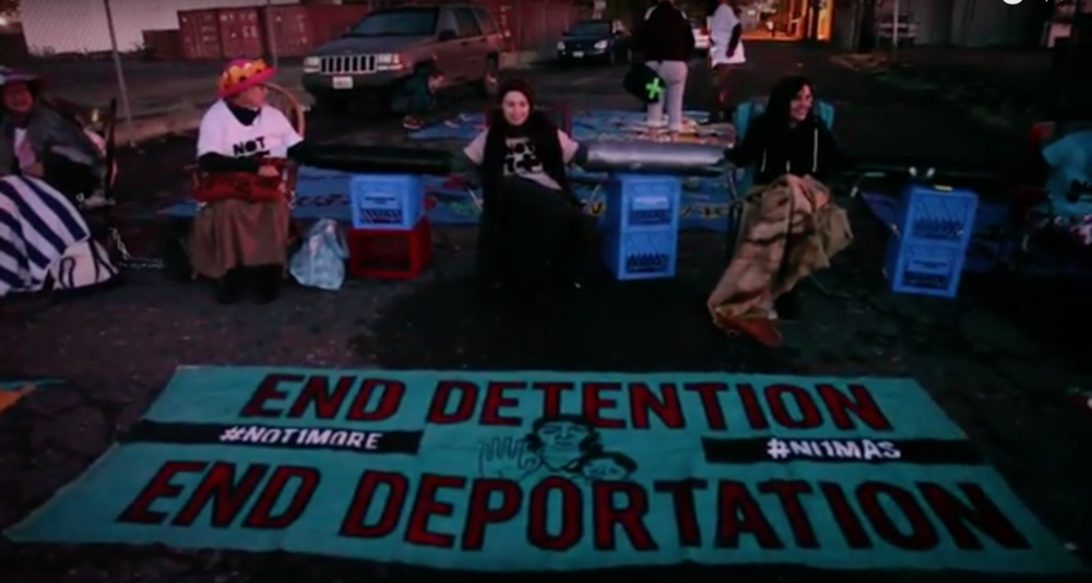 NWDC Resistance #SHUTDOWNICE ACTION (2015)