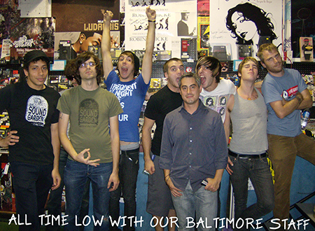 All Time Low with our Baltimore staff.jpg