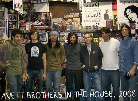 Avett Brothers in the house, 2008.jpg