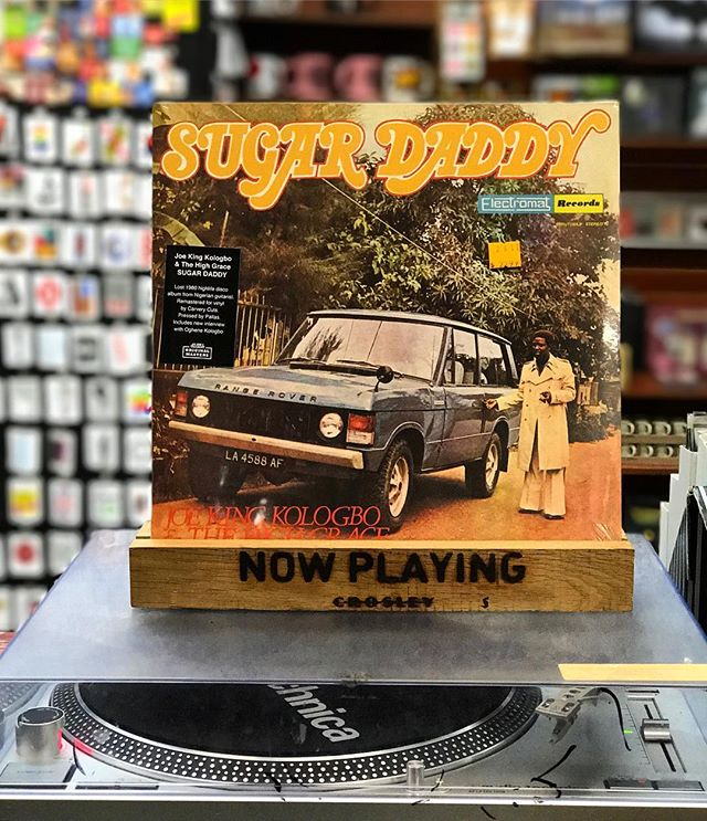 Good morning from @sg_bmore. 🌞 #Vinyl #Records #MorningJams #SugarDaddy #ShopLocal #ShopSmall #TheSoundGarden #Baltimore