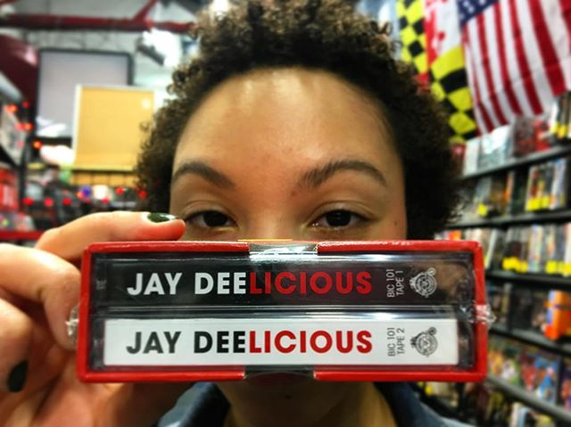 When you just need some Dilla in your life... JAY DEELICIOUS (2 CASSETTE SLIP CASE). 🎤 #Dilla #JayDee #JDilla #JDillaChangedMyLife